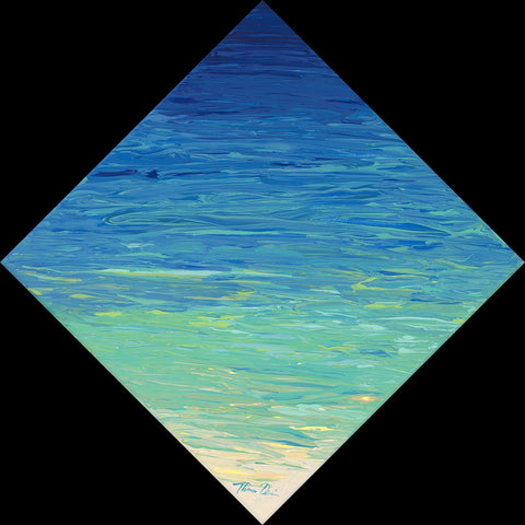 Beached Diamond 2 by Hawaii Artist Thomas Deir