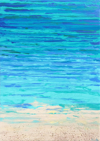 Beachy 1 by Hawaii Artist Thomas Deir