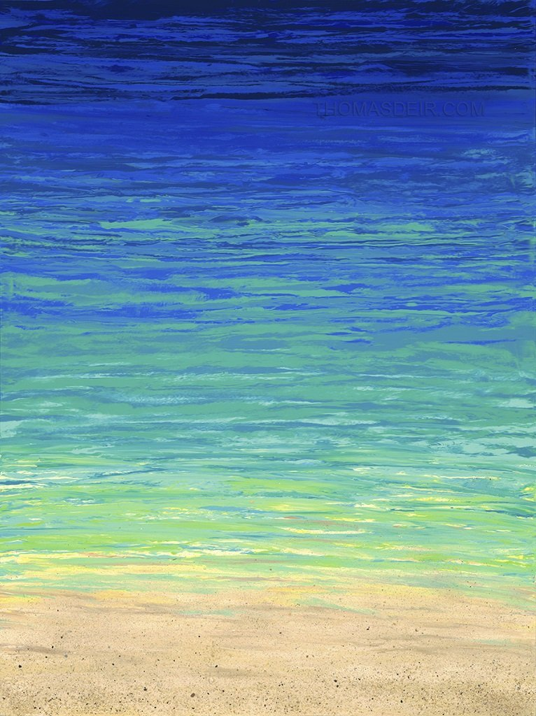 Depth of Blue 30x40 GW Painting