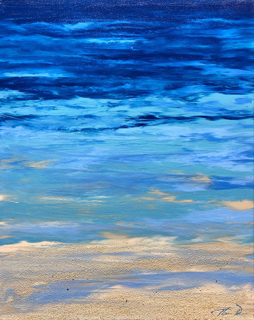 East Coast Blues 3 16x24 Painting