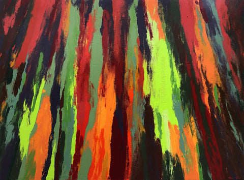 Eucalyptus H3 36x48 Painting - Holiday Sale!