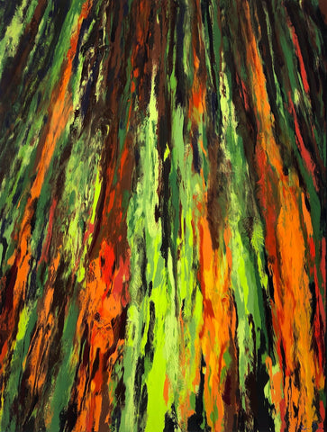 Eucalyptus V7 36x48 GW Painting - Holiday Sale!