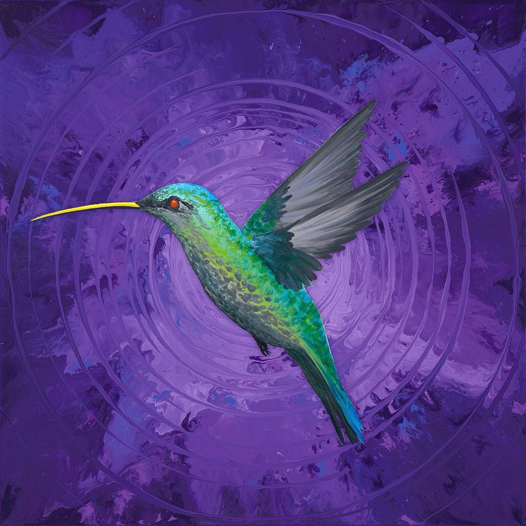 Hummingbird Passion Giclee