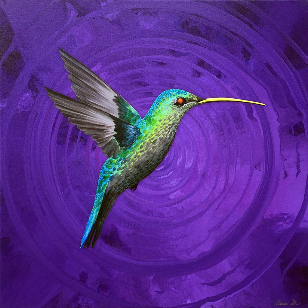 The Humming Bird Effect Giclee