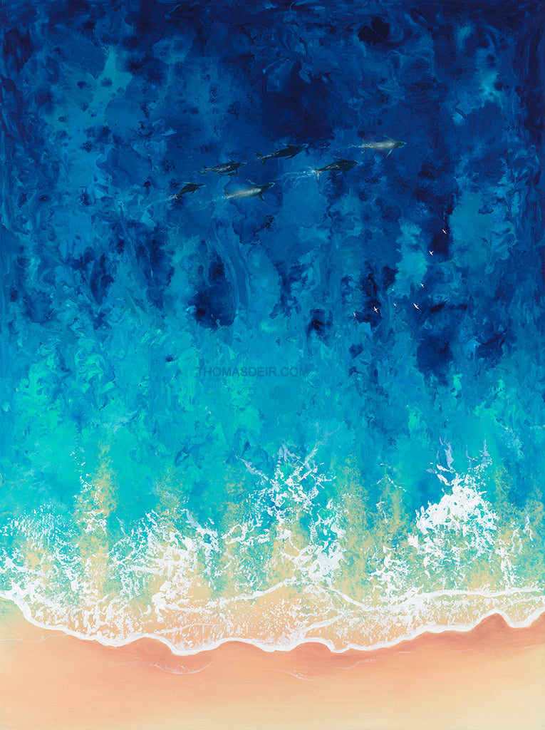Humpbacks Journey Giclee