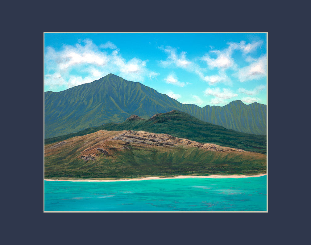 Lanikai Hawaii art prints gift print