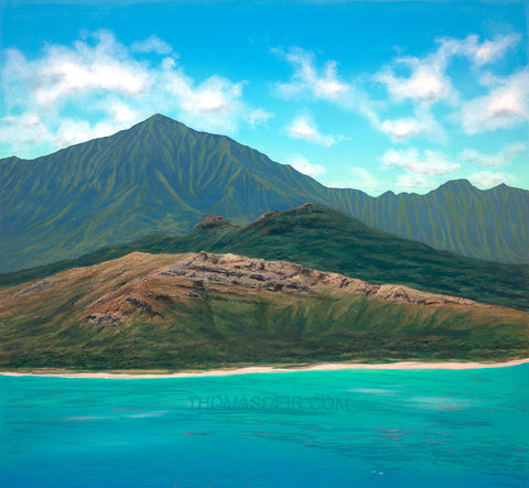 Lanikai Giclee Prints by Hawaii Artist