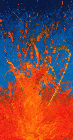 Lava 17 Hearts of Fire Giclee Limited Edition