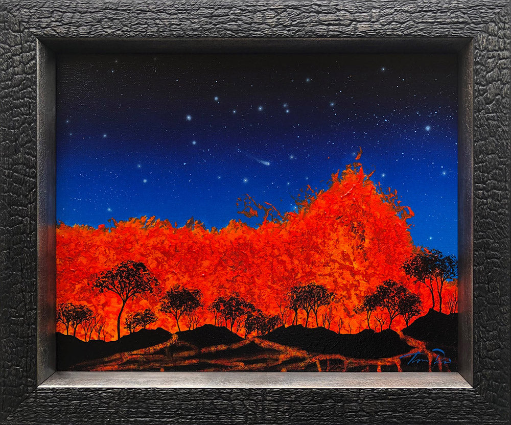 Lava 49 14x11 Framed Painting