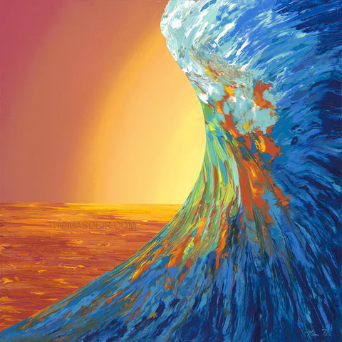 Liquid Stoke Wave Giclee Prints