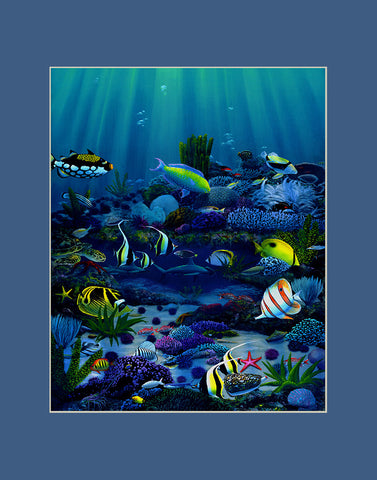 Living Reef Hawaii art prints gift print