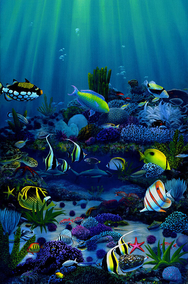 Living Reef Giclee Prints by Hawaii Artist