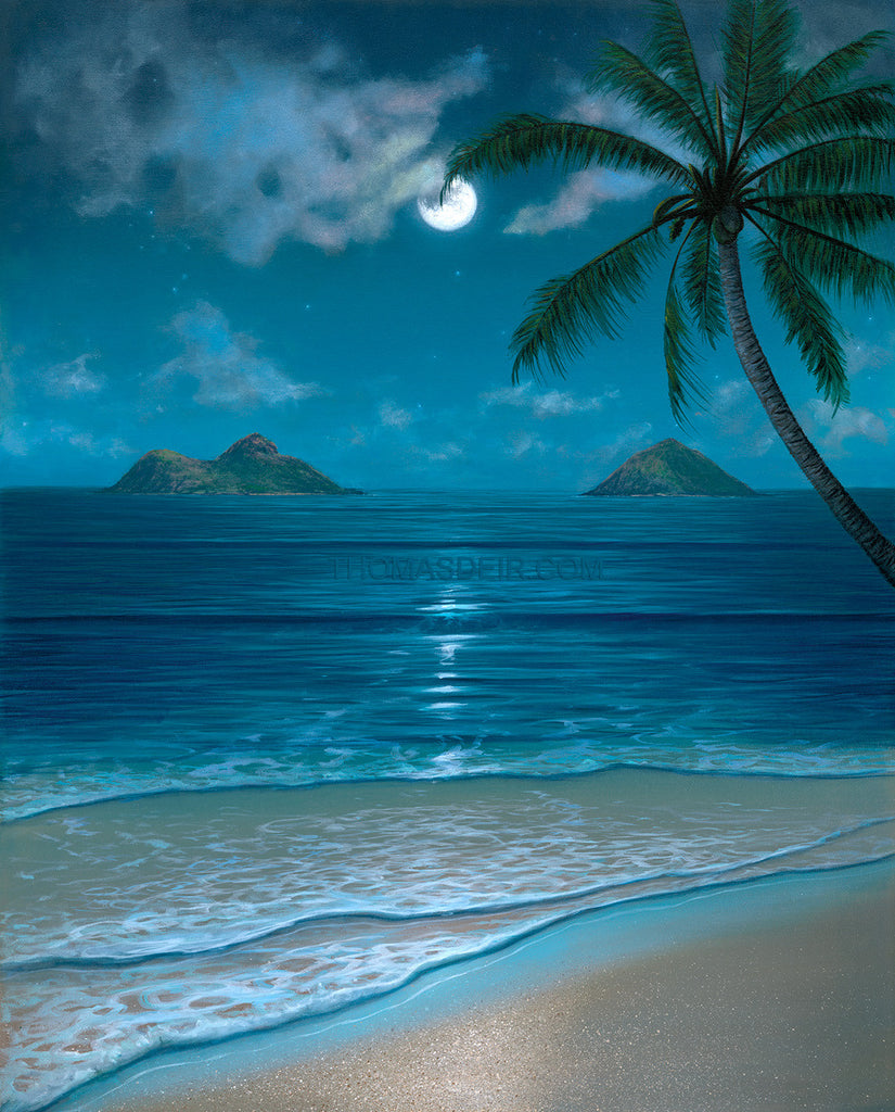 Mokulua Moonbow by Hawaii Artist