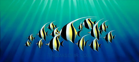 Moorish Idols Painting - Holiday Art Sale!