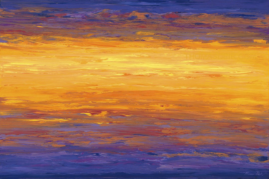 New Day Sunrise 16x24 Painting