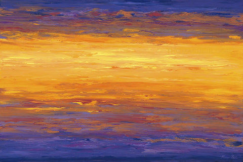 New Day Sunrise 20x30 Painting