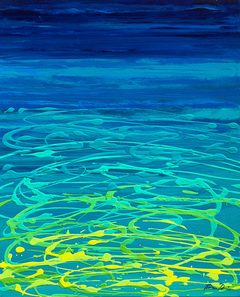 Ocean Reflection 4 Painting