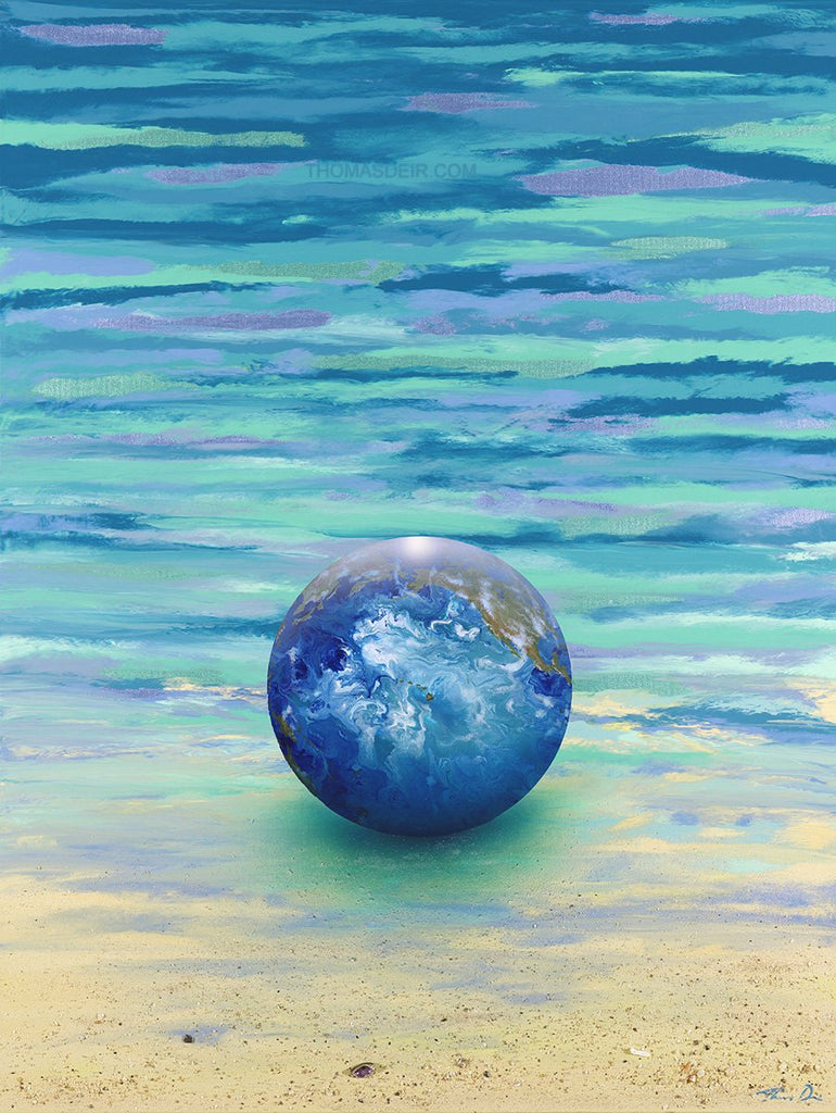 Our World Hawaii 30x40 GW Painting