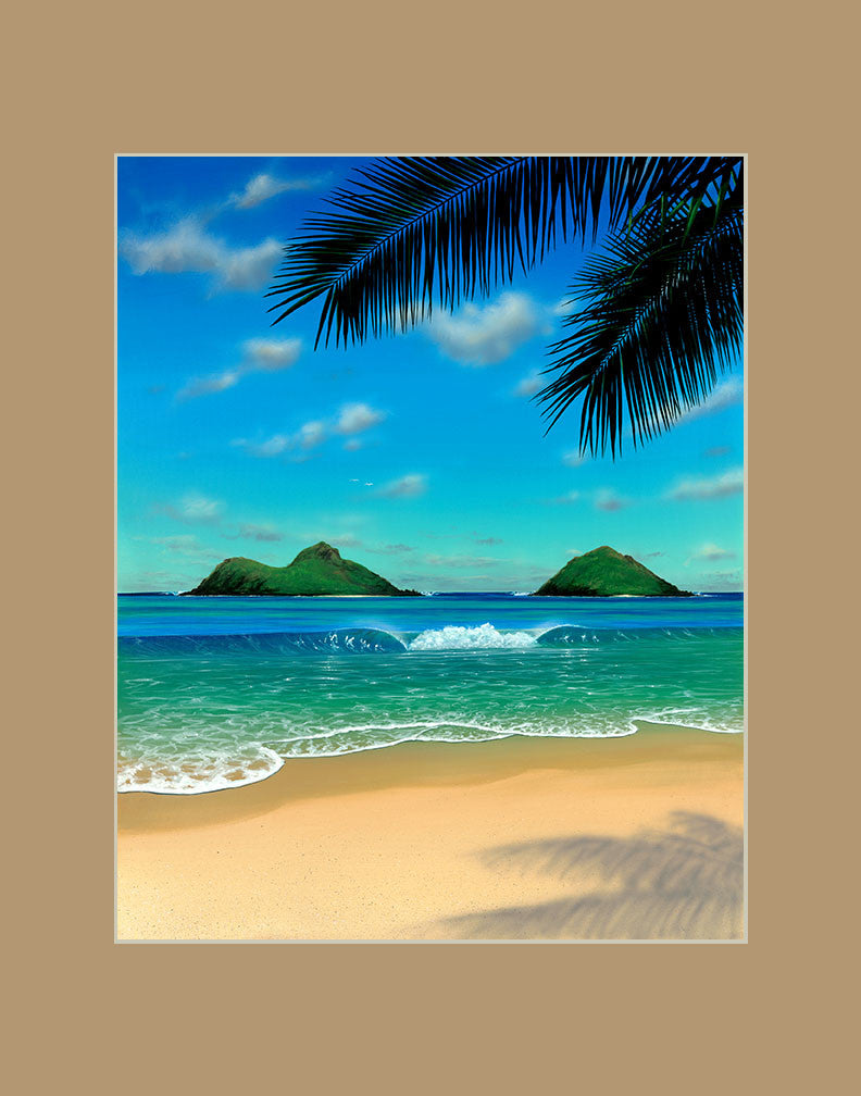 Paradise Hawaii art prints gift print