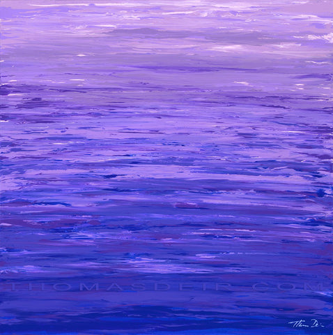 Purple Reflection Giclee
