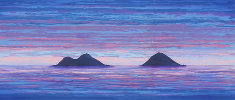 Restful Mokulua Morning Giclee