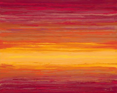 Red Sunset 24x30 Painting
