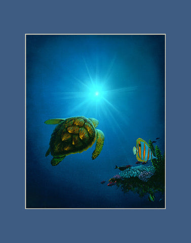 Sea the Light Hawaii art prints gift print