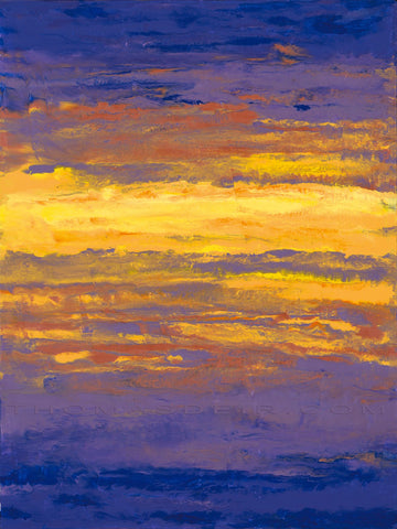 Sunset Ripple 18x24 Painting