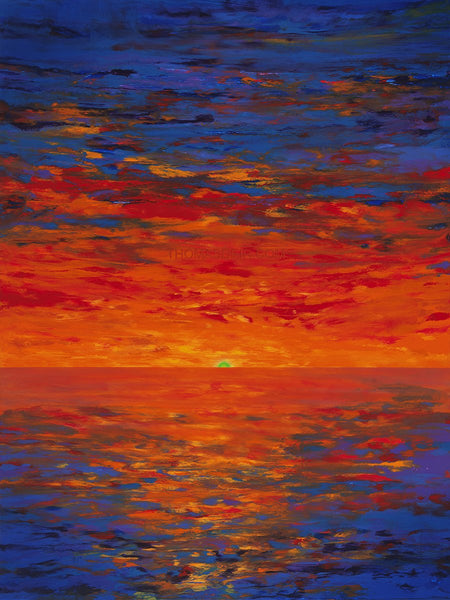 The Green Flash 30x40 GW Painting
