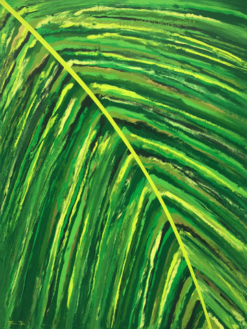 Tropical Frond Right Giclee