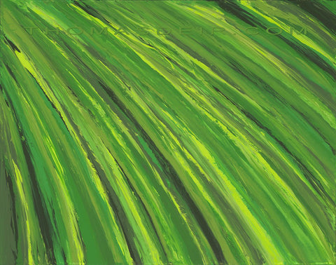 Tropical Leaf 22x28 Painting
