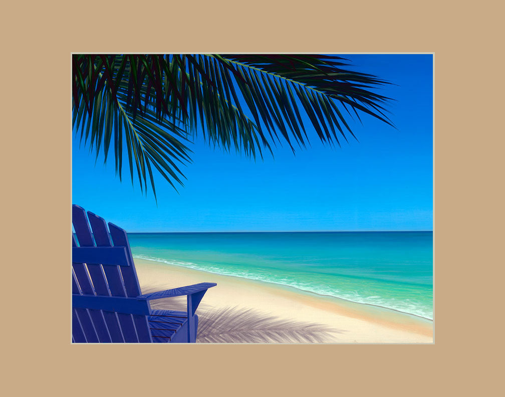 Tropical Vacation Hawaii art prints gift print