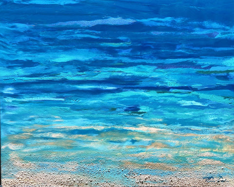 Turquoise Beach 2 16x20 Painting