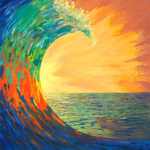 Kauai Wave giclee prints