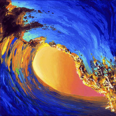 Wave Squared by Hawaii Artist