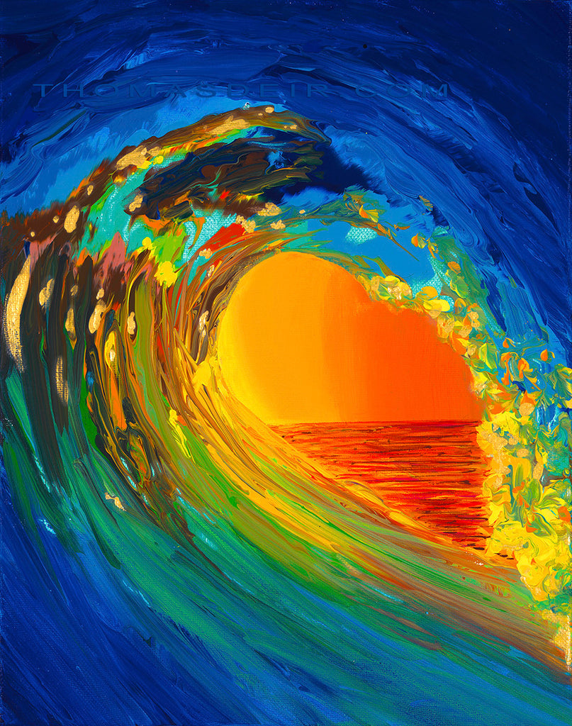 Wave of Light Giclee