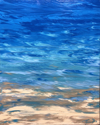 West Wind Blues 16x24 Painting