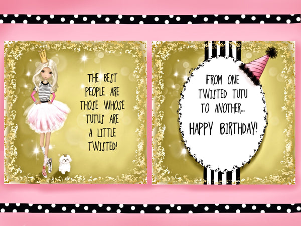 5 Greeting Cards with Sassitude