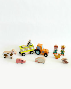 Mini Story Wooden Toy Kit - Farm