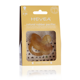 HEVEA All-Natural Crown Pacifier (Round Nipple)