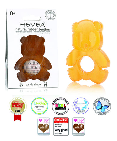 HEVEA All-Natural Panda Teether