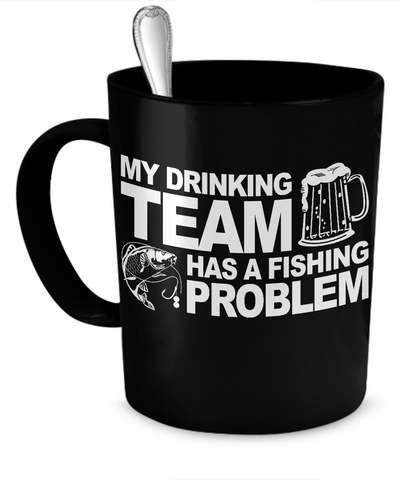 Fishing Team Problem Mug