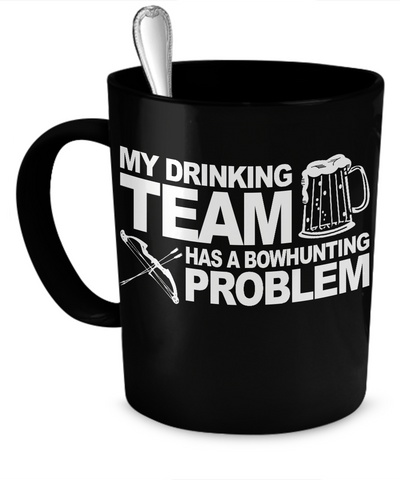 Bowhunting Drinking Team Mug