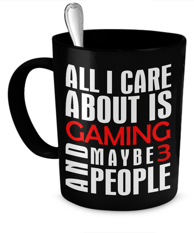 Gaming And 3 People Mug
