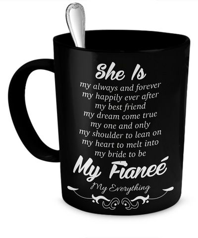 She is My Fiancee Mug