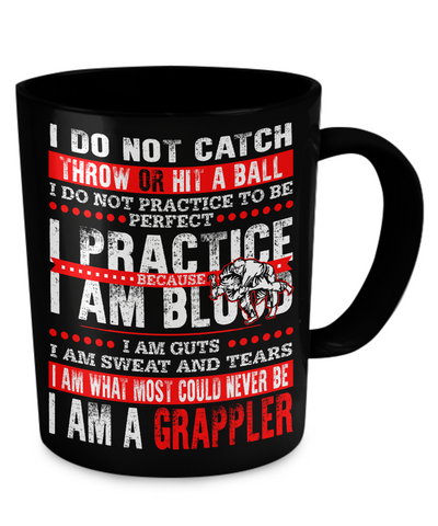 I Am A Grappler Mug