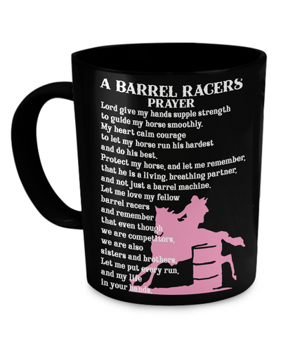 Barrel Racers Prayer Mug