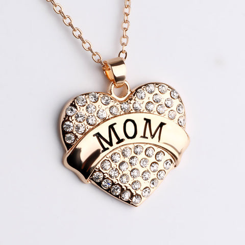 FREE Heart Mom Necklace (Just Pay Shipping!)