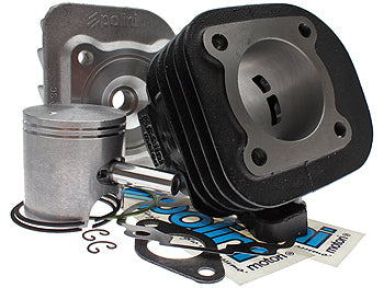 Polini Contessa 70cc cylinder for the Yamaha Zuma 2002-2011 Minarelli horizontal - Dynoscooter.com