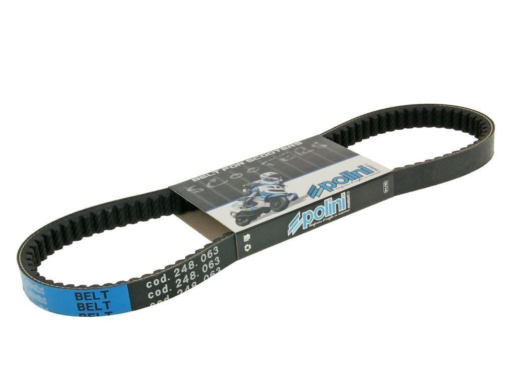 Polini Belt for the 2002-2011 Yamaha Zuma 2 stroke 50cc - Dynoscooter.com